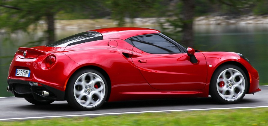 The Fantastic Alfa Romeo 4C