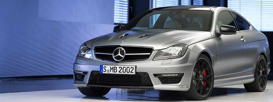 Driving the C63 AMG Edition 507