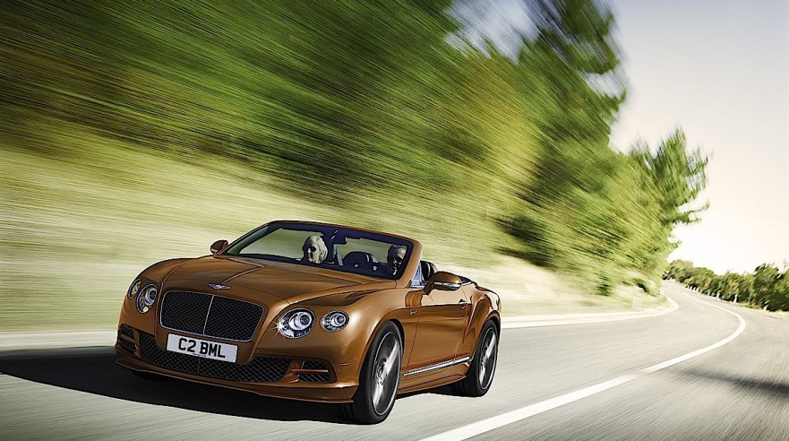 Bentley GT Speed Convertible