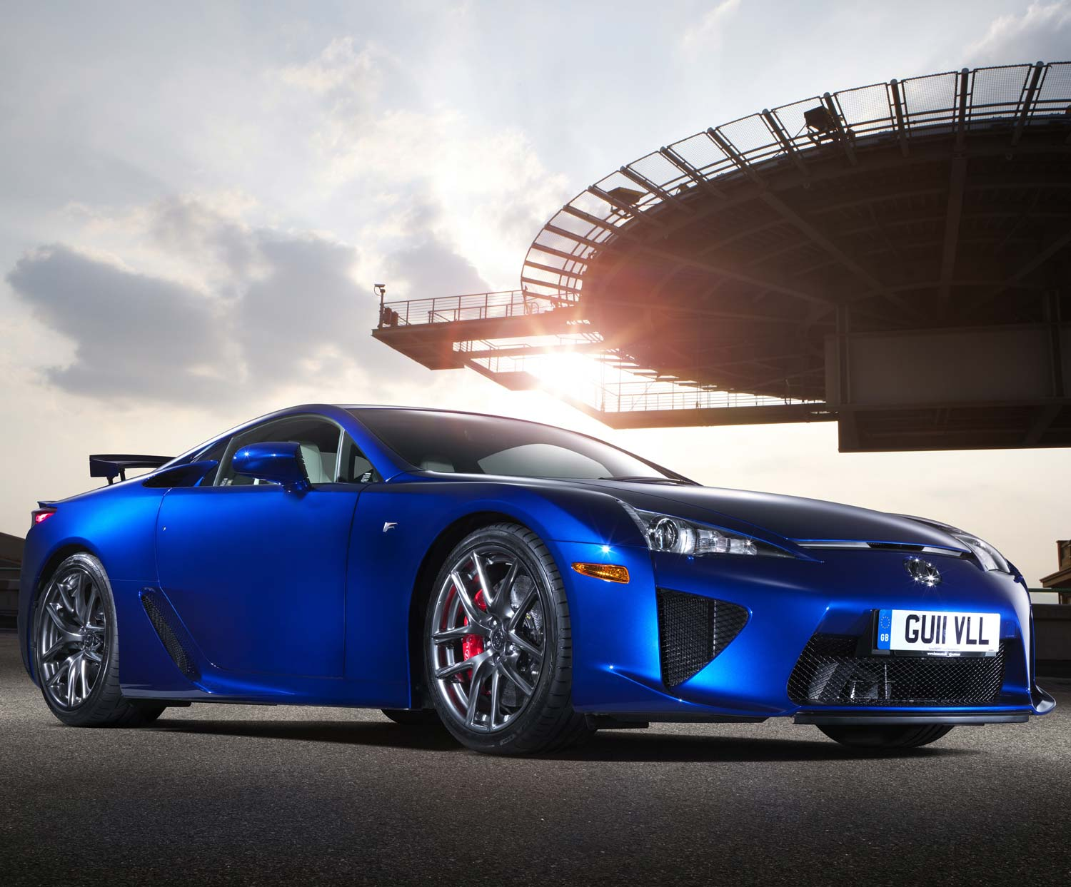 The Lexus RC F at the Goodwood Festival of Speed