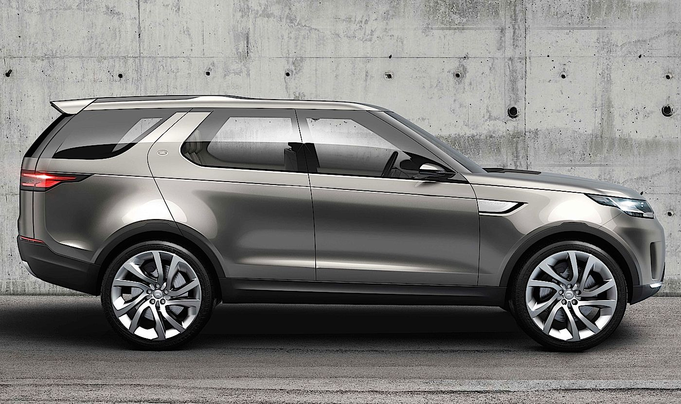 The Latest from JLR the Discovery Vision Concept SUV