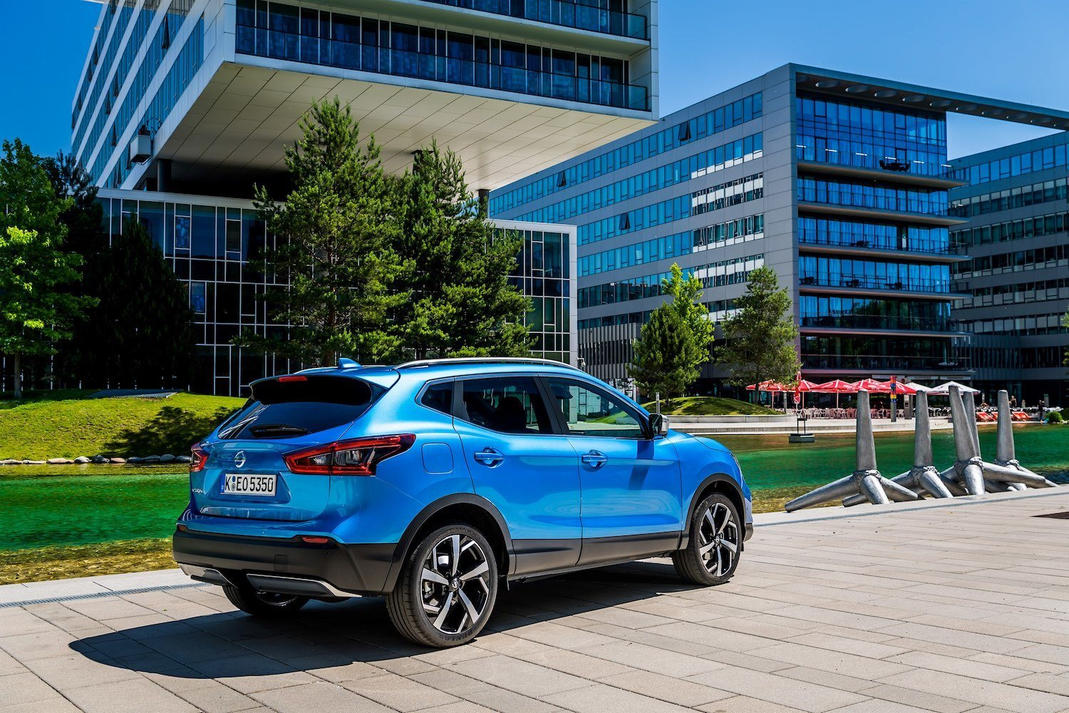 Drive reviews the Nissan Qashqai from the Launch in Vienna 4