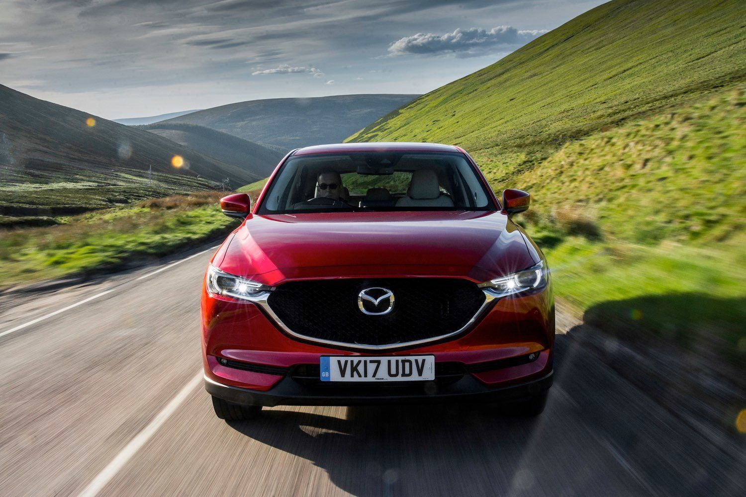 Tom Scanlan reviews the all new Mazda CX-5 in the Cairngorms Scotland for drive 18