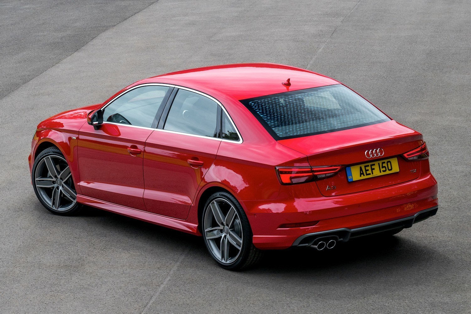 we review the audi a3 saloon 1 6 tdi s tronic s line. Black Bedroom Furniture Sets. Home Design Ideas