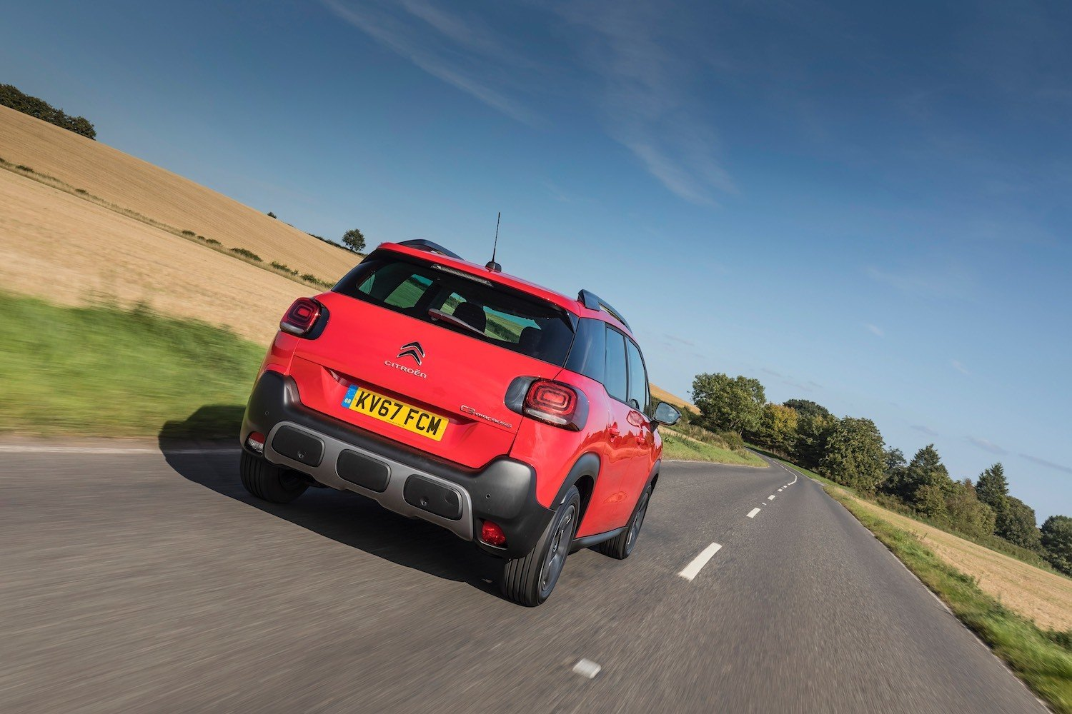 Tom Scanlan revews the All New Citroen C3 Aircross for Drive 15
