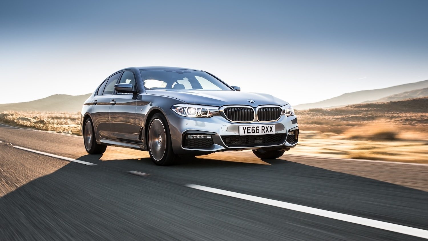 BMW 530d M Sport reviewed by Tom Scanlan for Drive 18