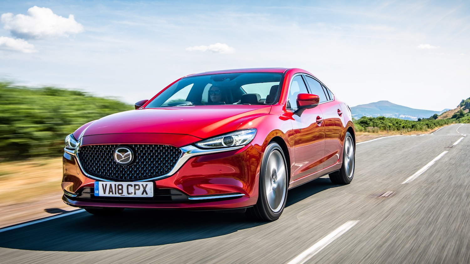 Review Neil Lyndon drives the New Mazda6 2018 model 5