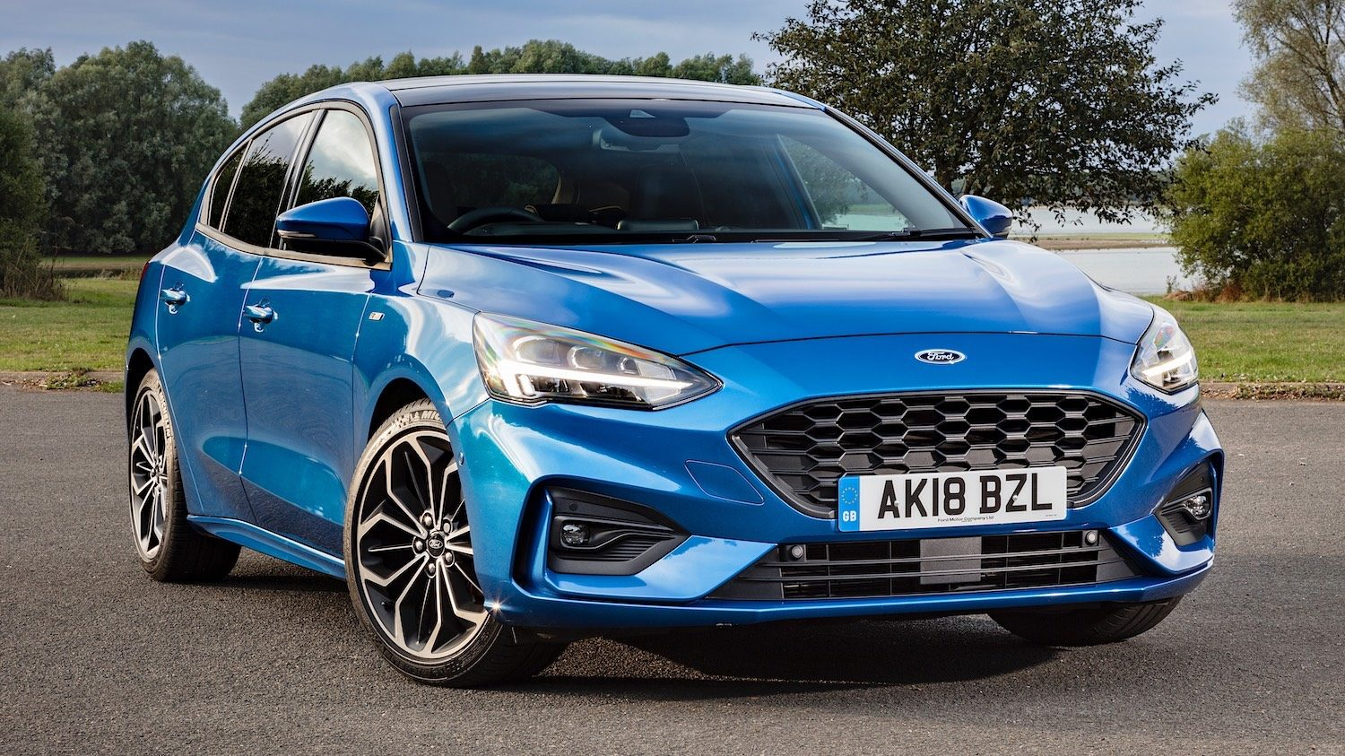 Drive Co Uk Review The Ford Focus St Line That Is A